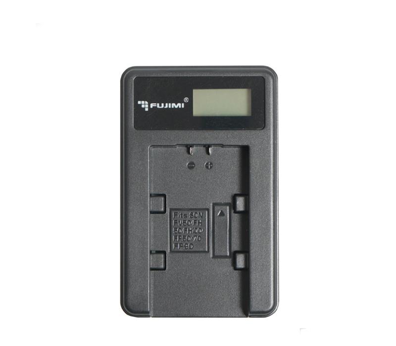 Зарядное устройство Fujimi c USB адаптером для Canon LP-E10 (FJ-UNC-LPE10) фото