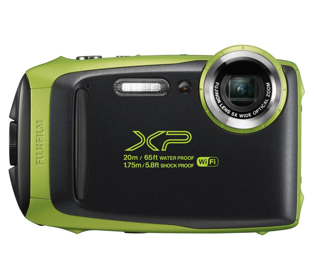 Компактный фотоаппарат FUJIFILM FinePix XP130, зеленый фото