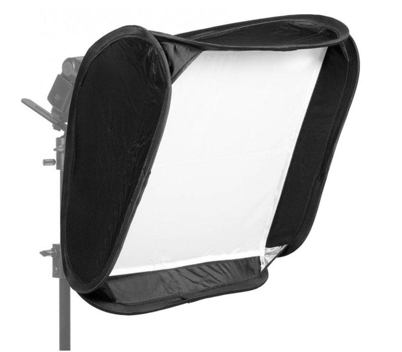 Софтбокс Fujimi FJS-60, 60х60 см, для накамерной вспышки фото