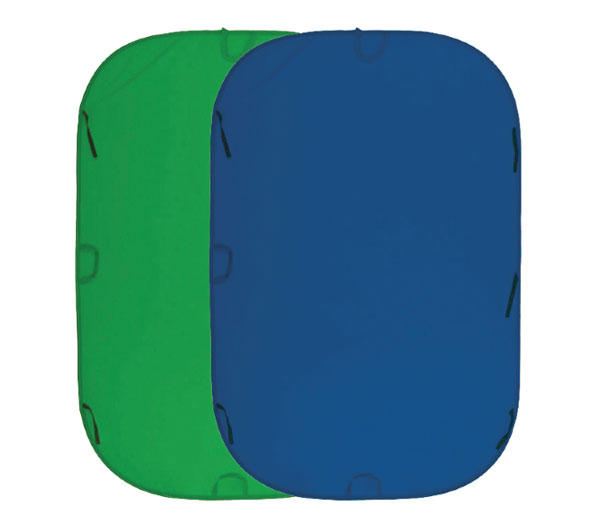 Фон Fujimi FJ 706GB-180/210, 180 х 210 см, синий / зелёный фото