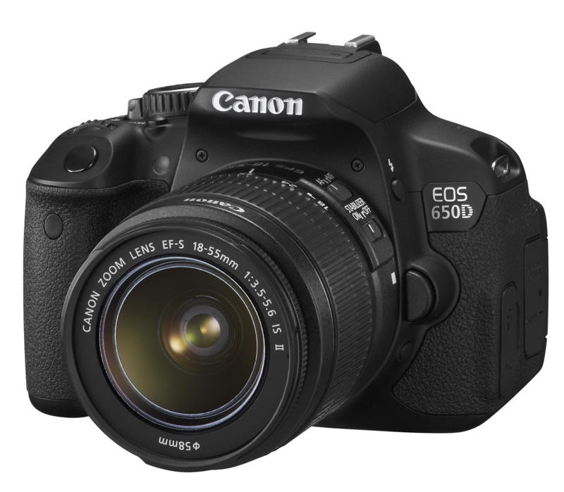 Зеркальный фотоаппарат CANON EOS 650D + EF-S 18-55 IS II Kit