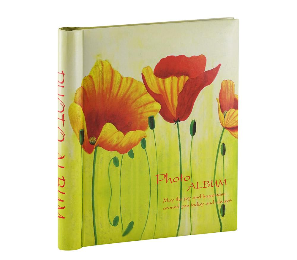 Фотоальбом Fotografia магнитный 23х28 см, 30 листов, «Цветы» (FA-SA30-315) фото