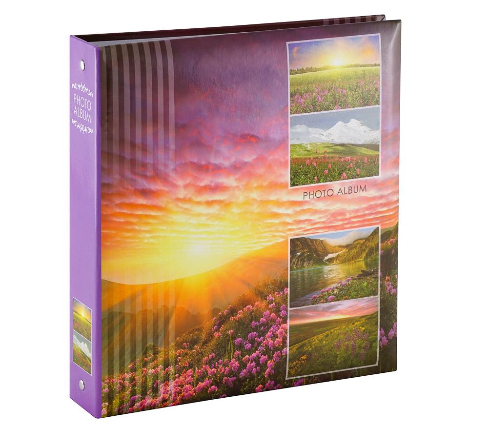 Фотоальбом Fotografia магнитный 23х28 см, 50 листов, на кольцах, «Пейзаж» (FA-SA50-106) фото