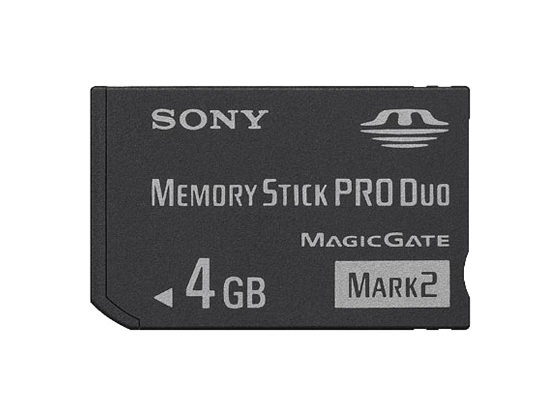 Карта памяти SONY Memory Stick PRO Duo Mark2 4GB