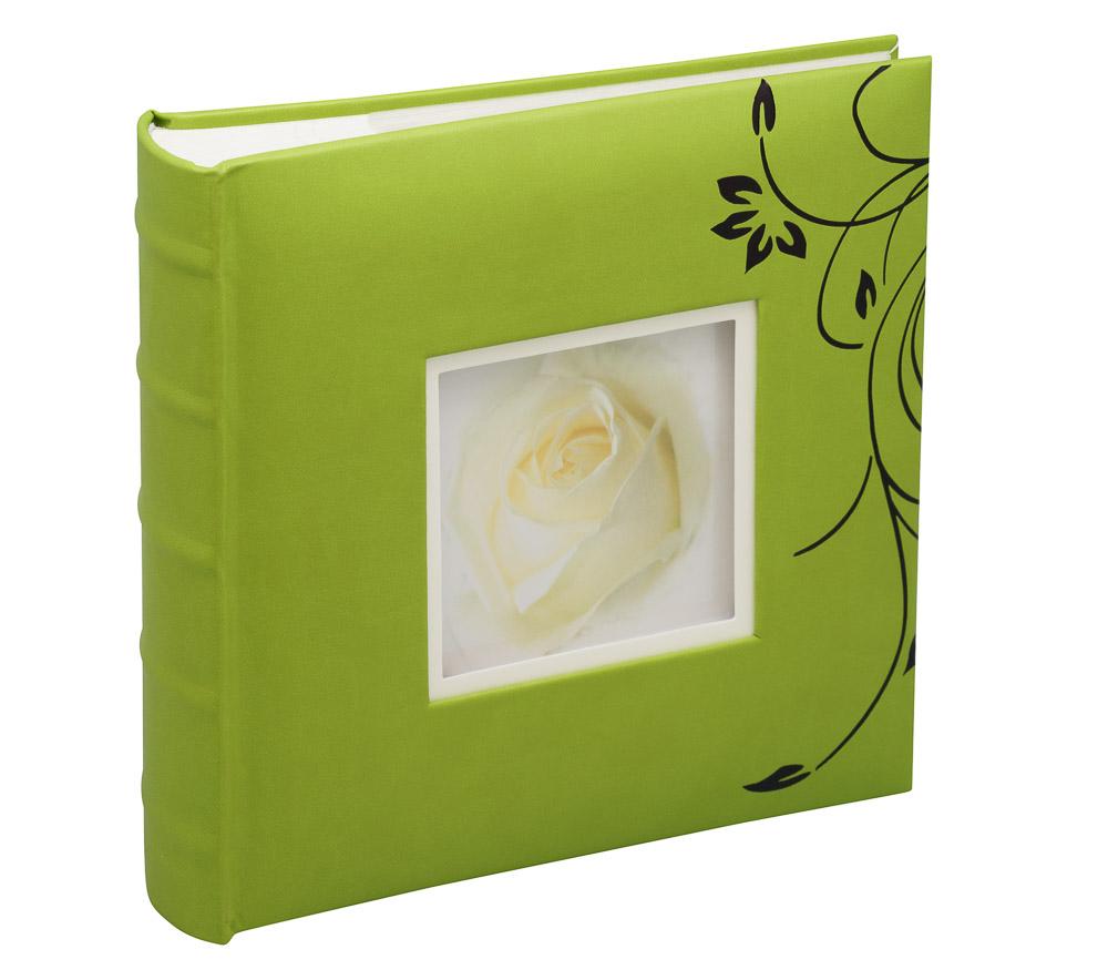 Фотоальбом Fotografia 10x15 см 200 фото, книжный переплет, «Цветы» (FA-EBBM200-812)