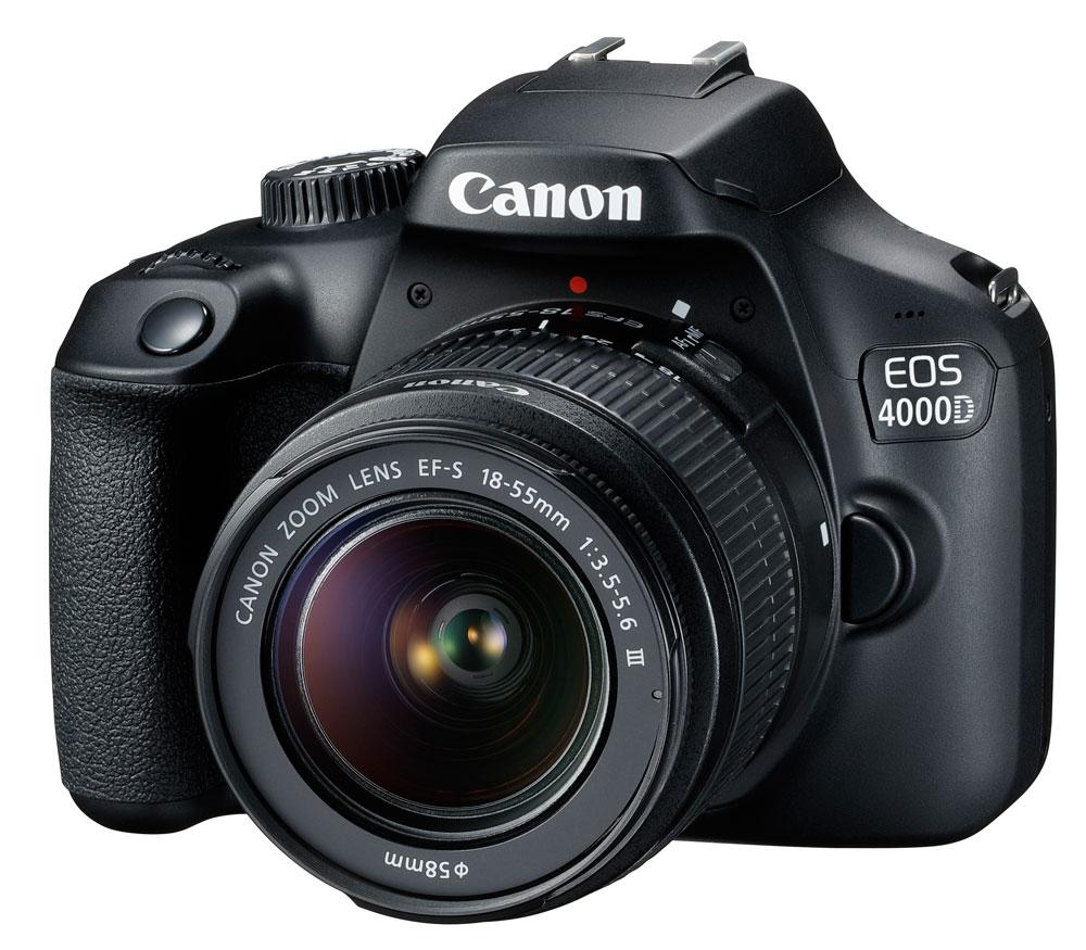 Зеркальный фотоаппарат Canon EOS 4000D Kit с