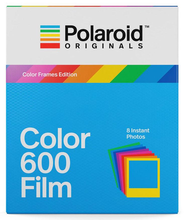 Картридж Polaroid Color Film, цветные рамки (для OneStep 2 и 600 серии) фото