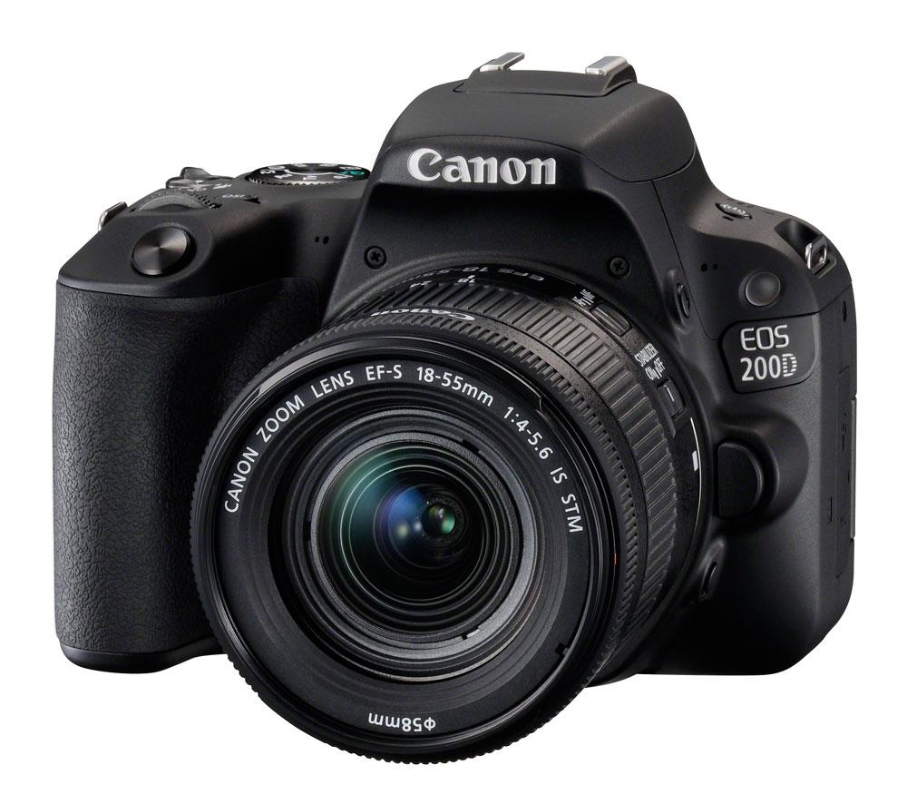 Зеркальный фотоаппарат Canon EOS 200D Kit с