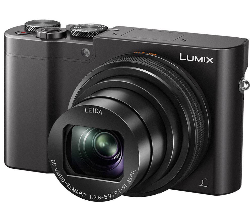 Компактный фотоаппарат Lumix DMC-TZ100 Panasonic DMC-TZ100EEK