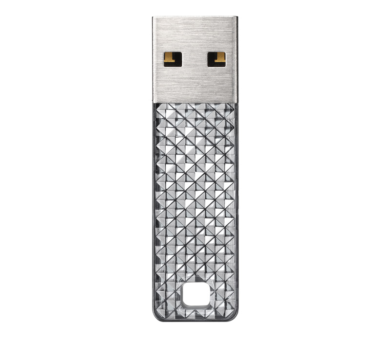 Накопитель SanDisk USB2 Flash 4GB  Cruzer Facet серебристый