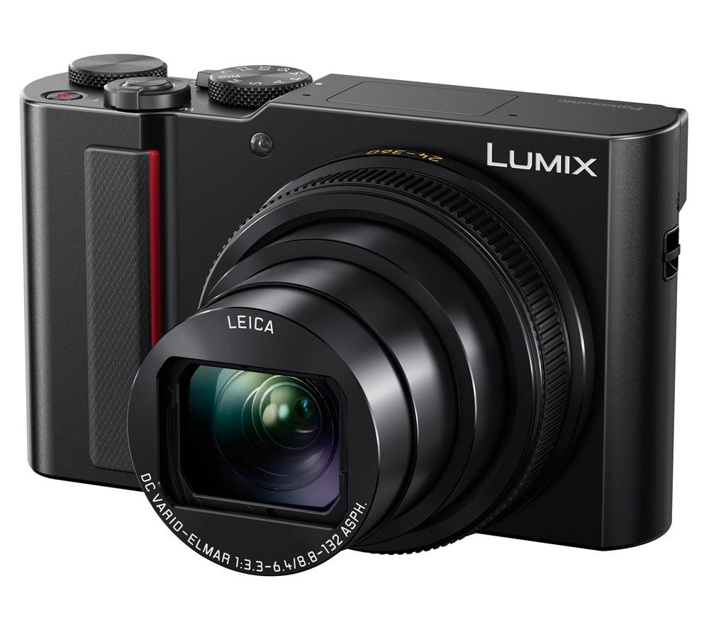 Компактный фотоаппарат PANASONIC Lumix DMC-TZ200 черный фото
