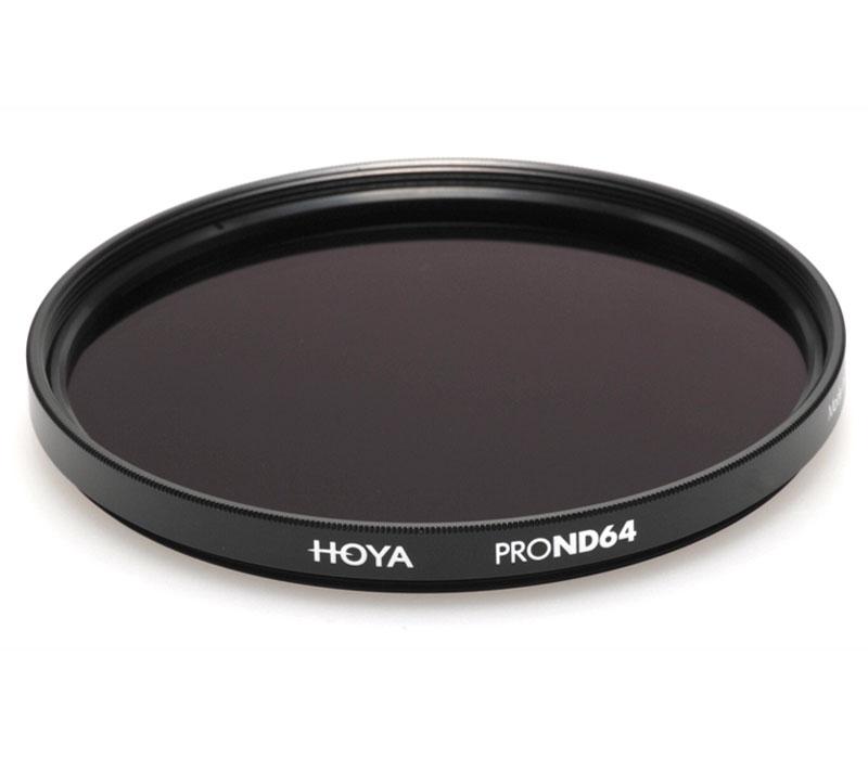 Светофильтр HOYA ND64 PRO 49 mm фото