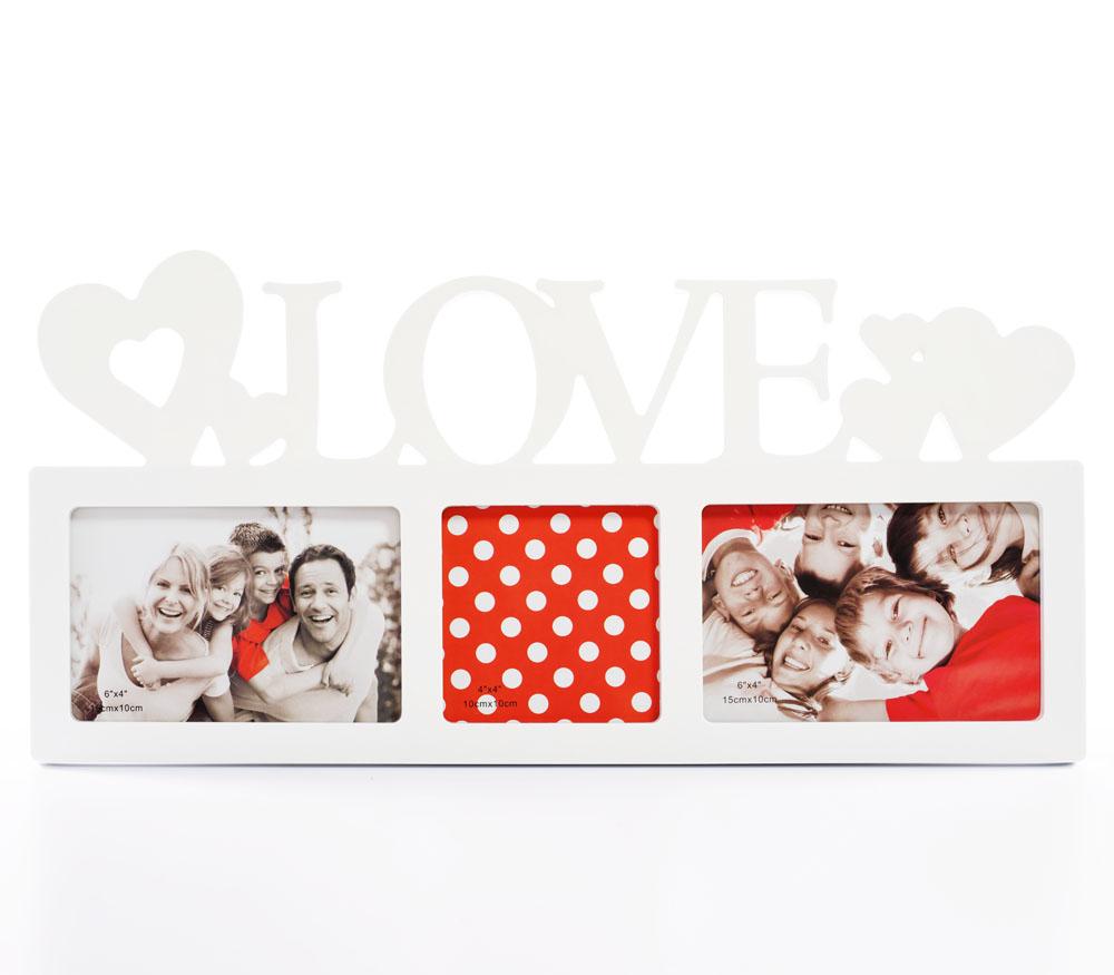 Мультирамка Fotografia на 3 фото (FFC-1013) белая фото