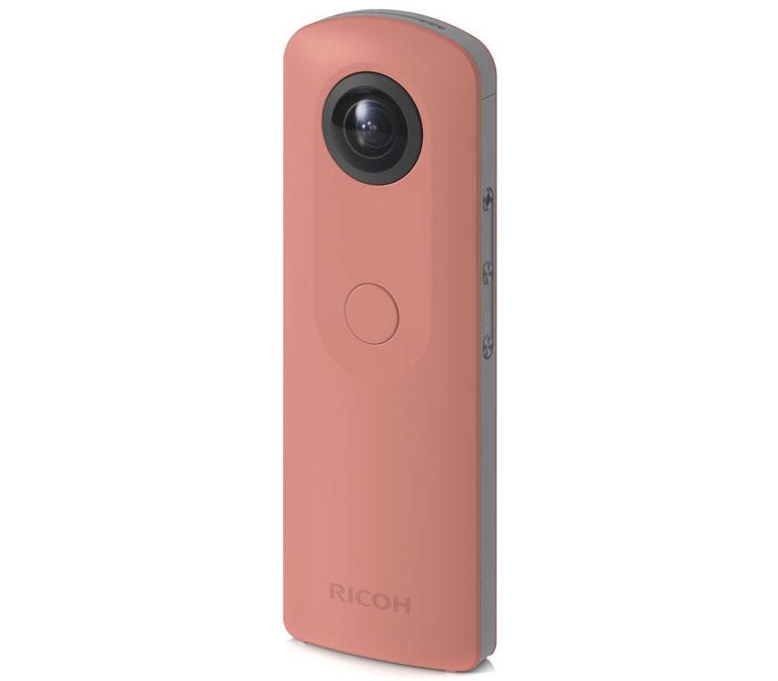 Панорамная камера Ricoh Theta SC (сферические панорамы 360°), розовый фото
