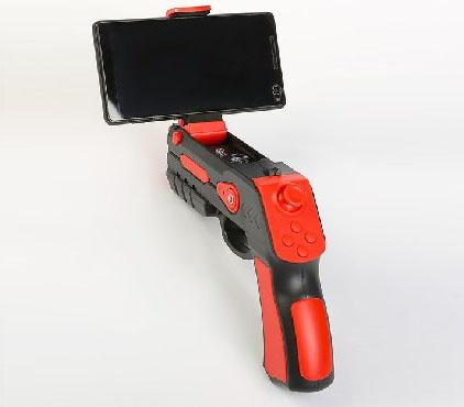 AOR-001, пистолет дополненной реальности с джойстиком, красный