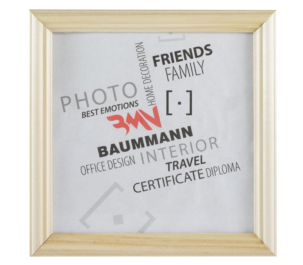 Фоторамка BAUMMANN 18x18 см, сосна фото