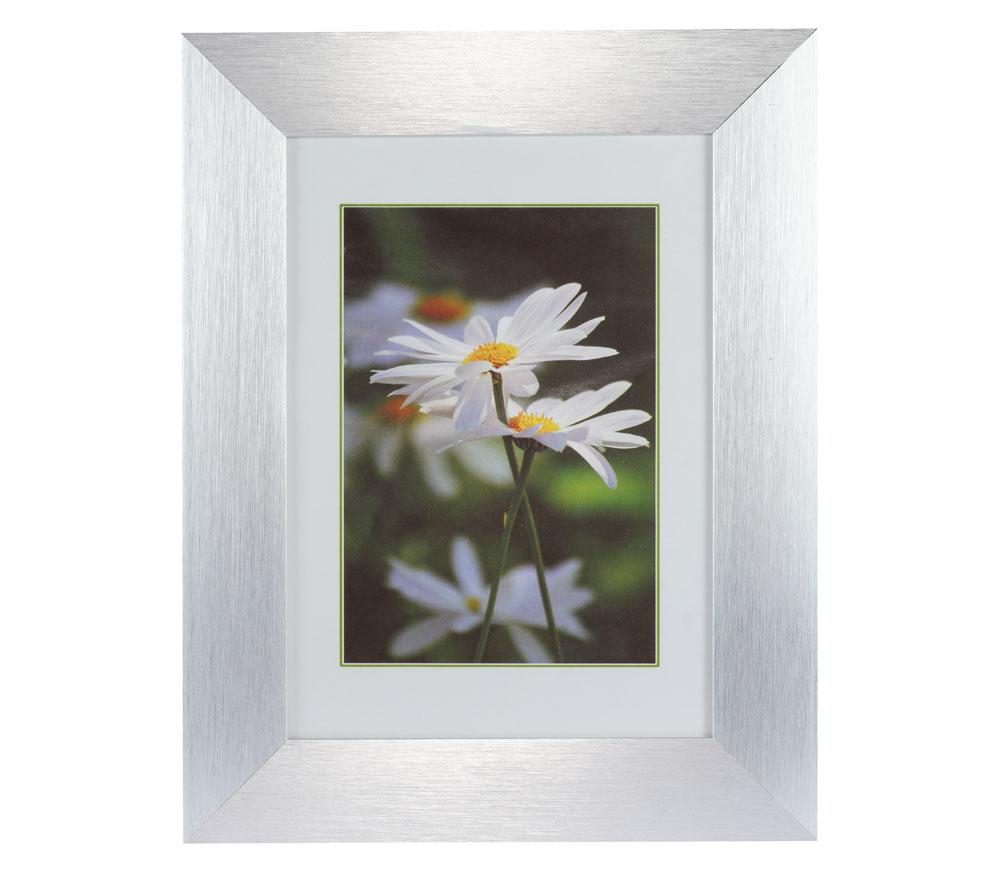 Фоторамка Oldena 10х15 cм, алюминий, серебристая (AL-30) фото