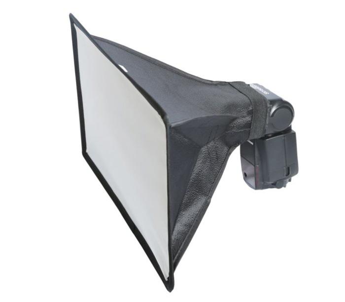 Софтбокс Fujimi FJS-2030, 20 х 30 см, для накамерной вспышки фото