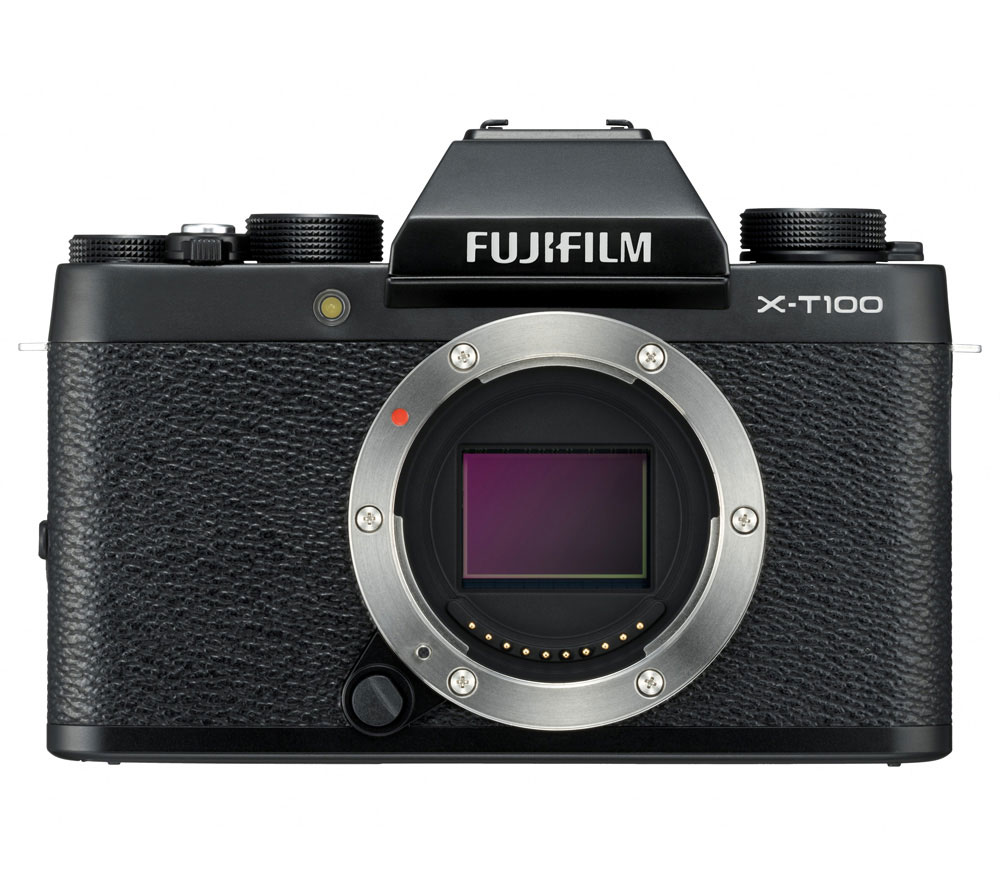 Фотоаппарат со сменной оптикой FUJIFILM X-T100 Body, черный фото