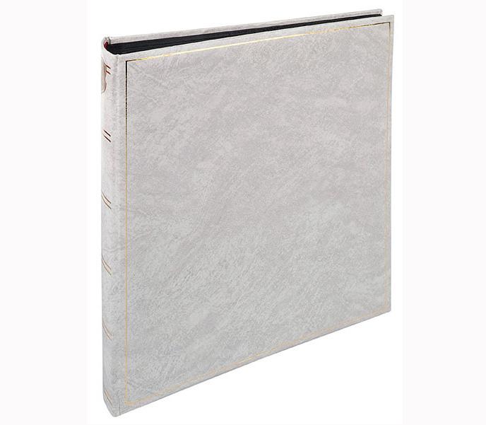 Фотоальбом HENZO 28х30,5 см 70 страниц BASIC LINE классика, черные страницы фото