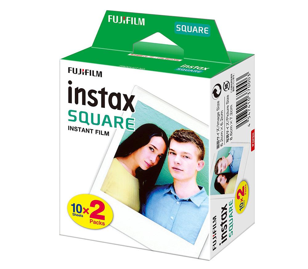 Картридж Fujifilm Instax SQUARE, 20 снимков фото