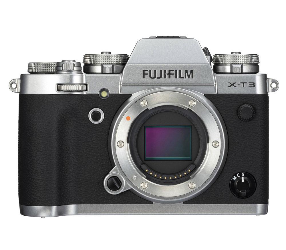 Фотоаппарат со сменной оптикой FUJIFILM X-T3 Body, серебристый фото