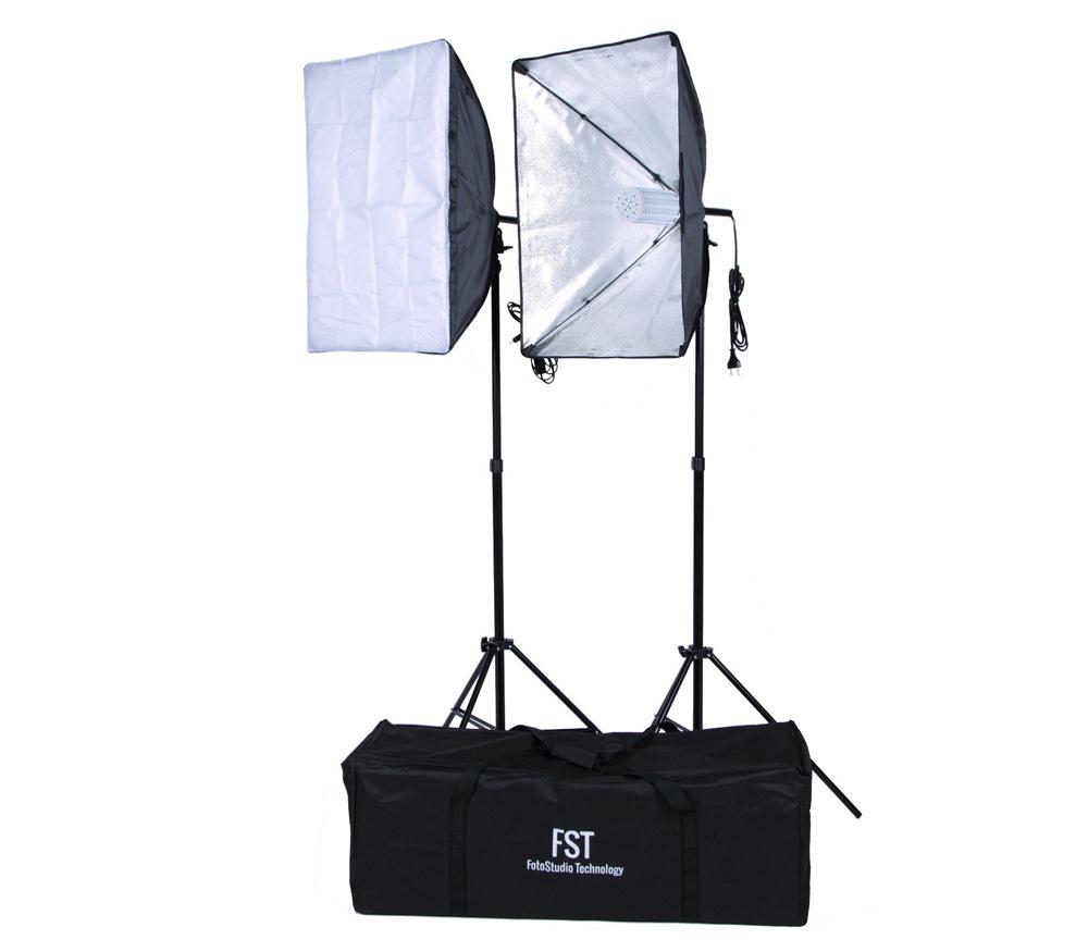 Комплект постоянного света FST ET-LED 462 Kit, светодиодный, 2х50 Вт, 5500К фото