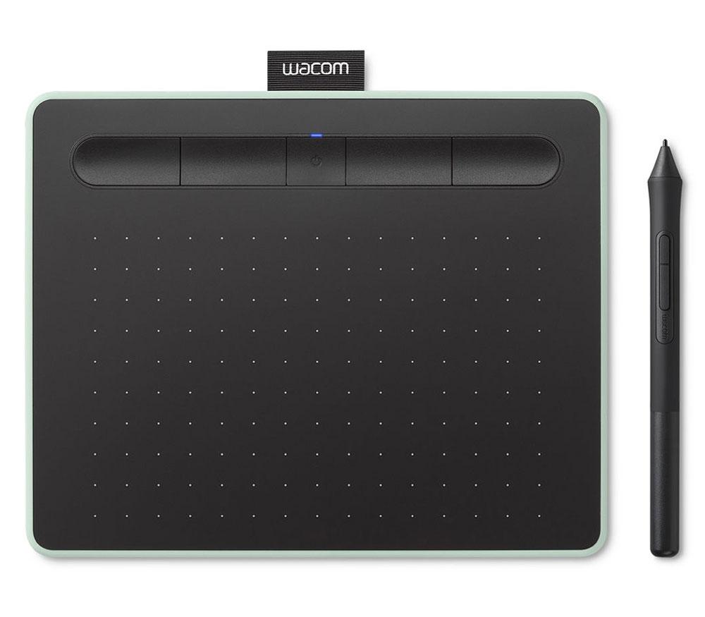 Графический планшет Wacom Intuos S Bluetooth, зеленый фото