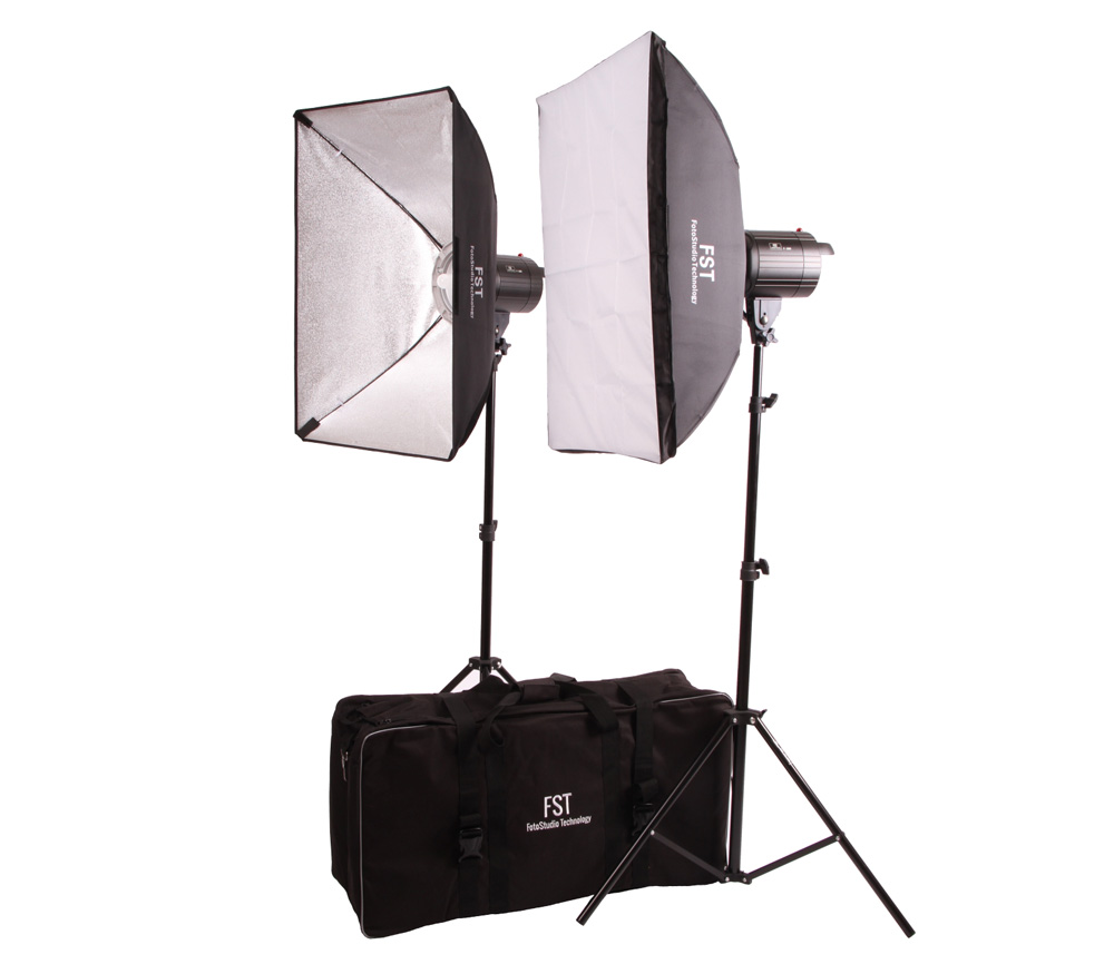 Комплект студийного света FST F-300 Softbox kit, 2х300 Дж