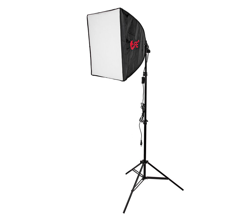 Комплект постоянного света Falcon Eyes KeyLight 130, светодиодный, 30 Вт + софтбокс 50х50 см фото