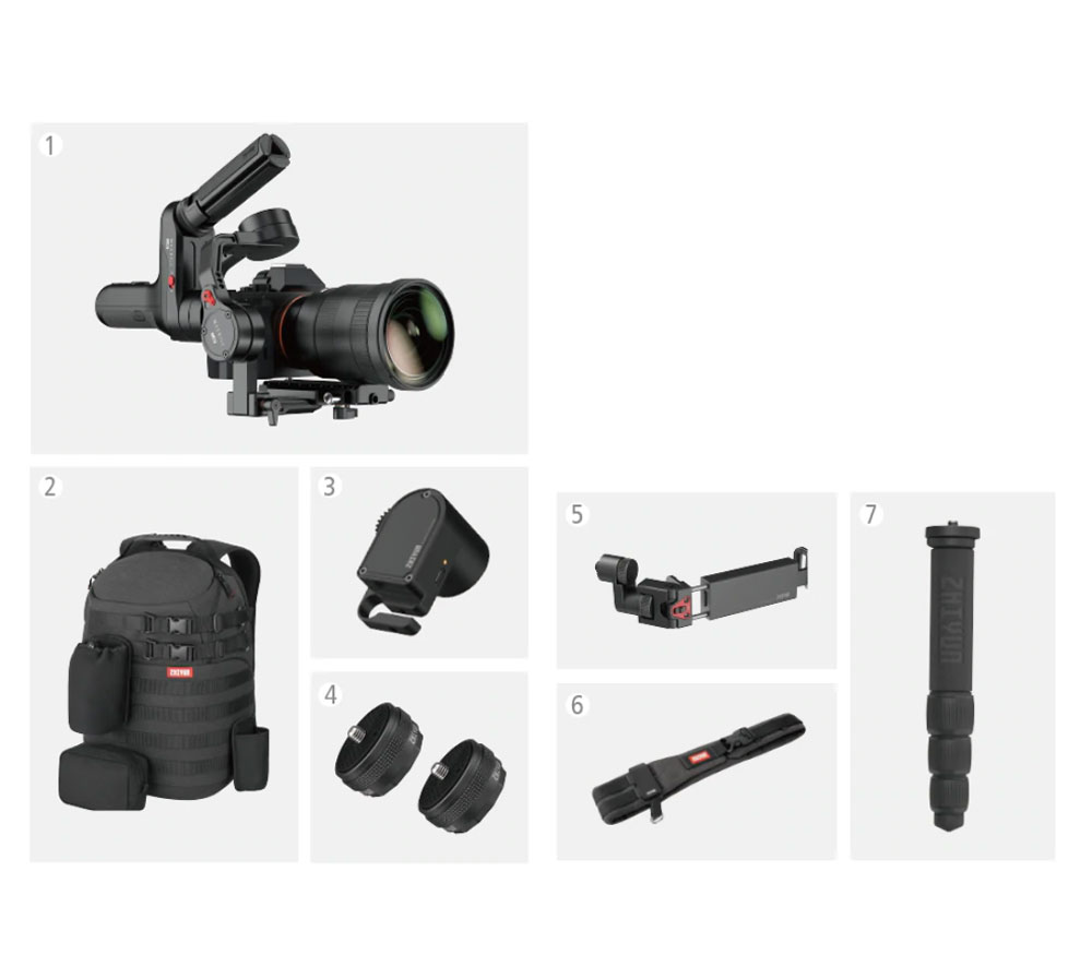 Стабилизатор Zhiyun Weebill Lab Master Package, электронный, до 3 кг