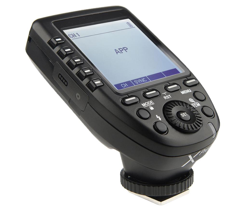 Трансмиттер Godox Xpro-O TTL для Olympus / Panasonic (TTL, HSS, 2.4 ГГц) фото
