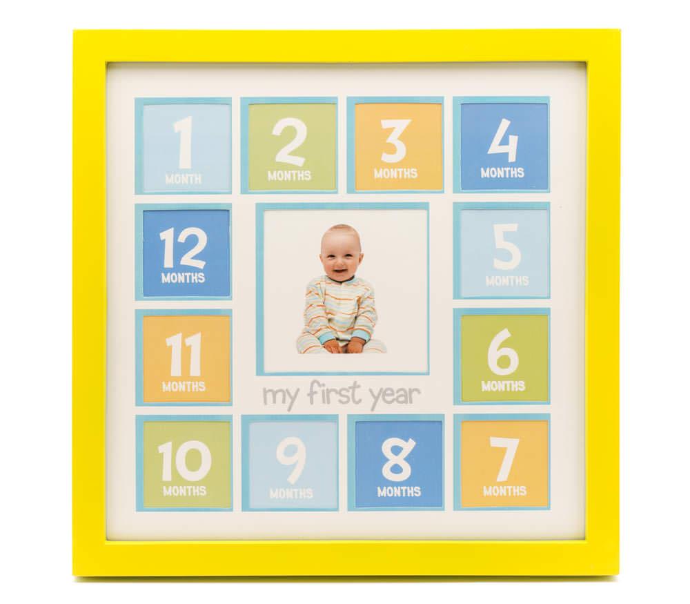Мультирамка Fotografia на 13 фото (FFC-2040) желтая, детская фото