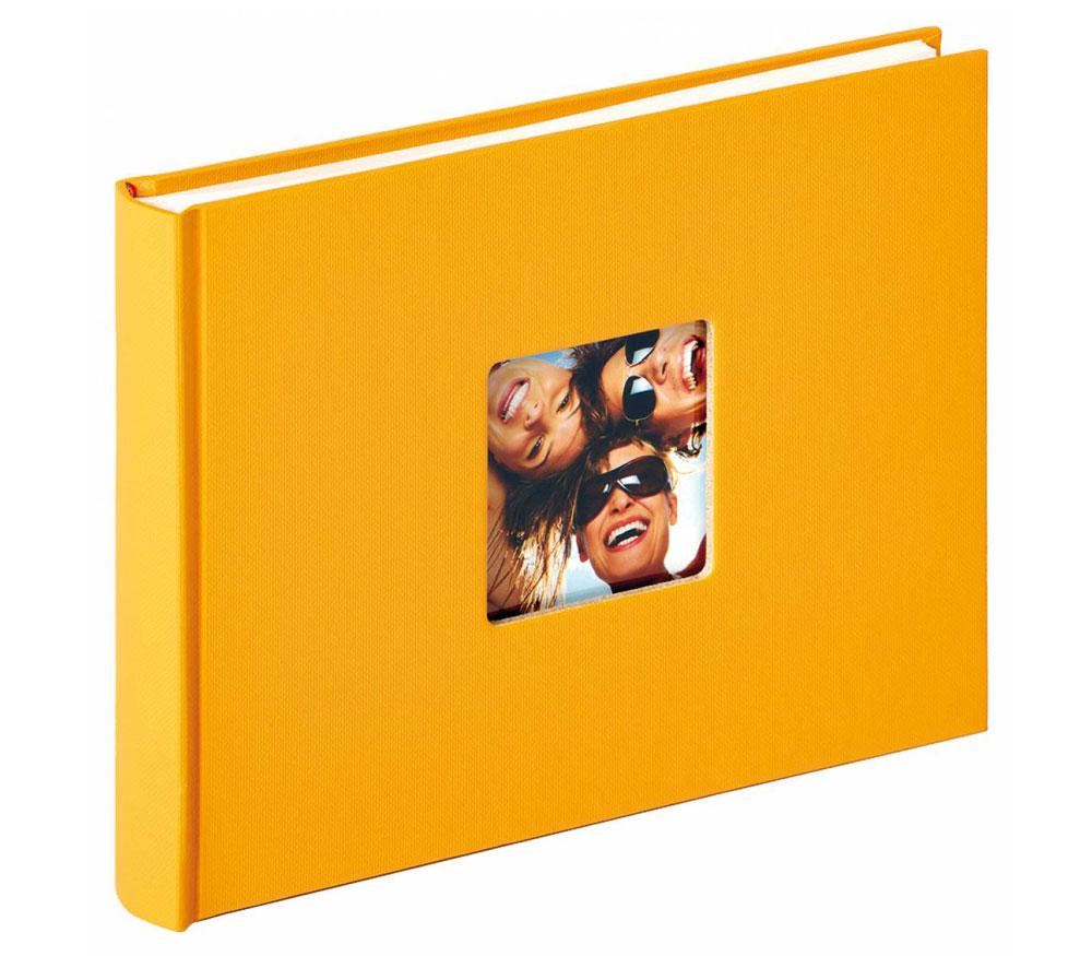 Фотоальбом Walther 22 x 16 см 40 страниц, Fun, желтый фото