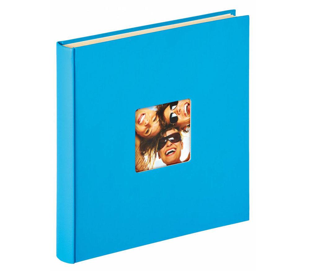 Фотоальбом Walther 33 x 34 см 50 cтраниц, Fun, голубой фото
