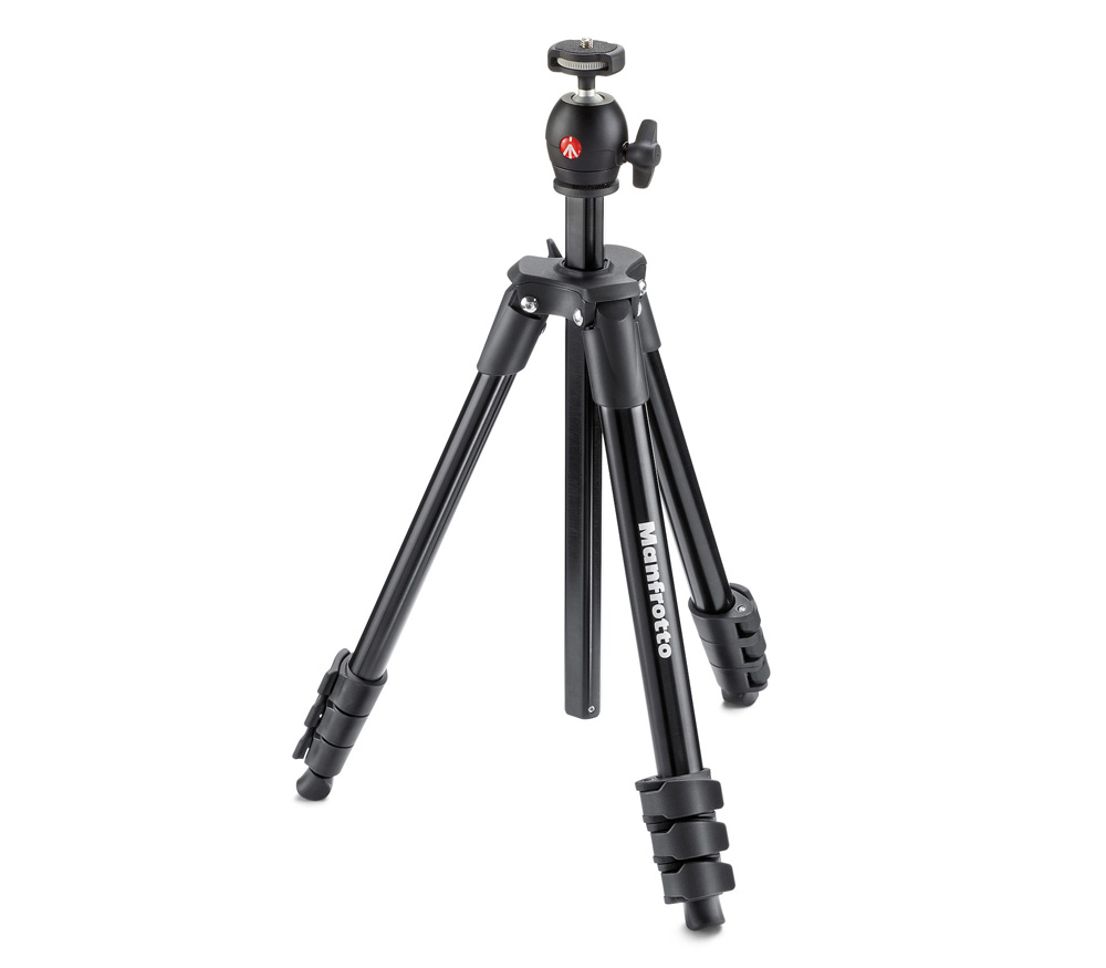 Штатив MANFROTTO Compact Light, черный фото