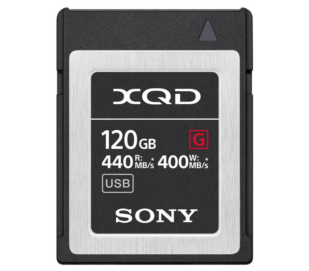 Карта памяти SONY XQD 120Gb QDG120F, чтение 440, запись 400 Мб/с фото