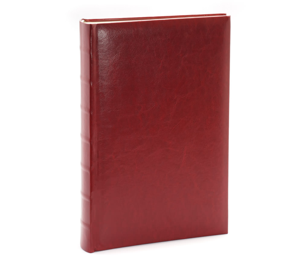 Фотоальбом Fotografia 10x15 см 300 фото, книжный переплет, бордовый, «Классика» (FA-EBBM300-827) фото