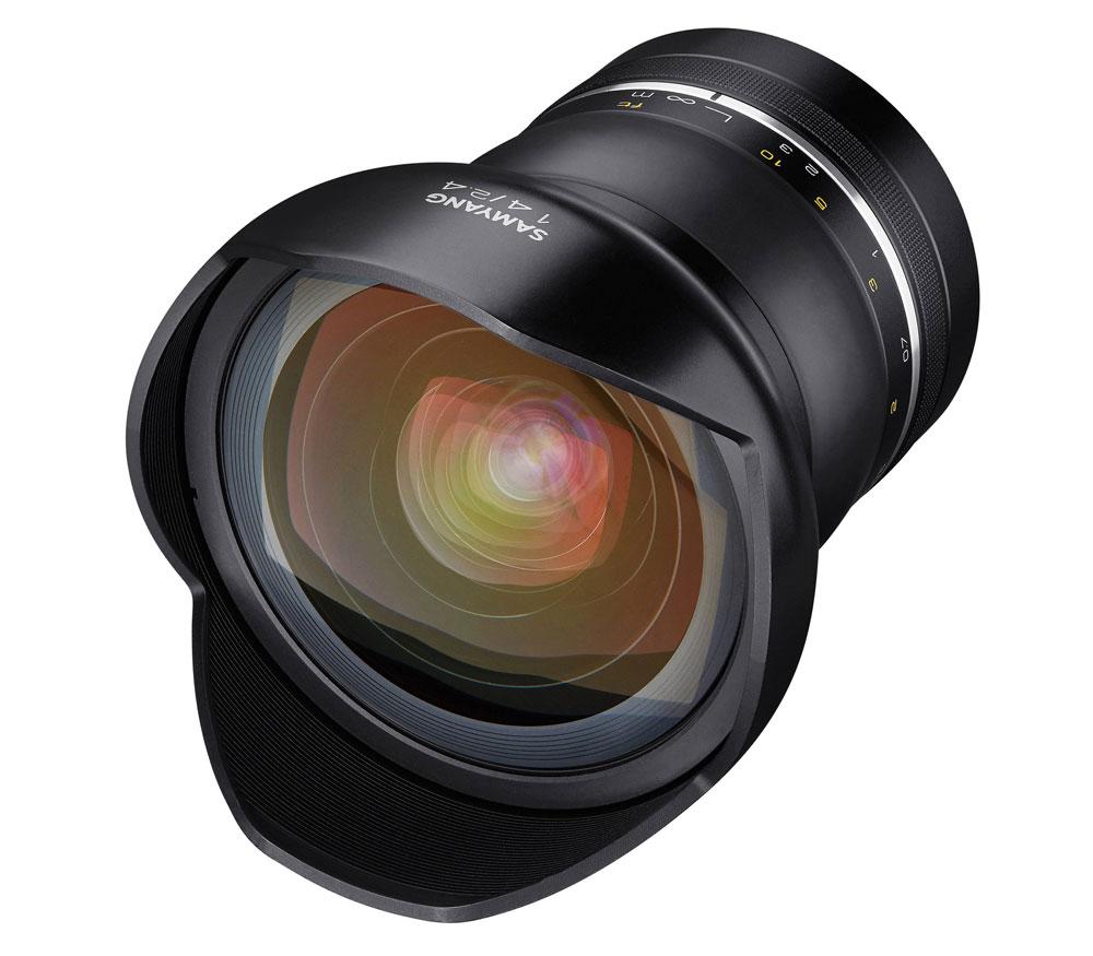 Объектив Samyang XP 14mm f/2.4 AE Canon фото