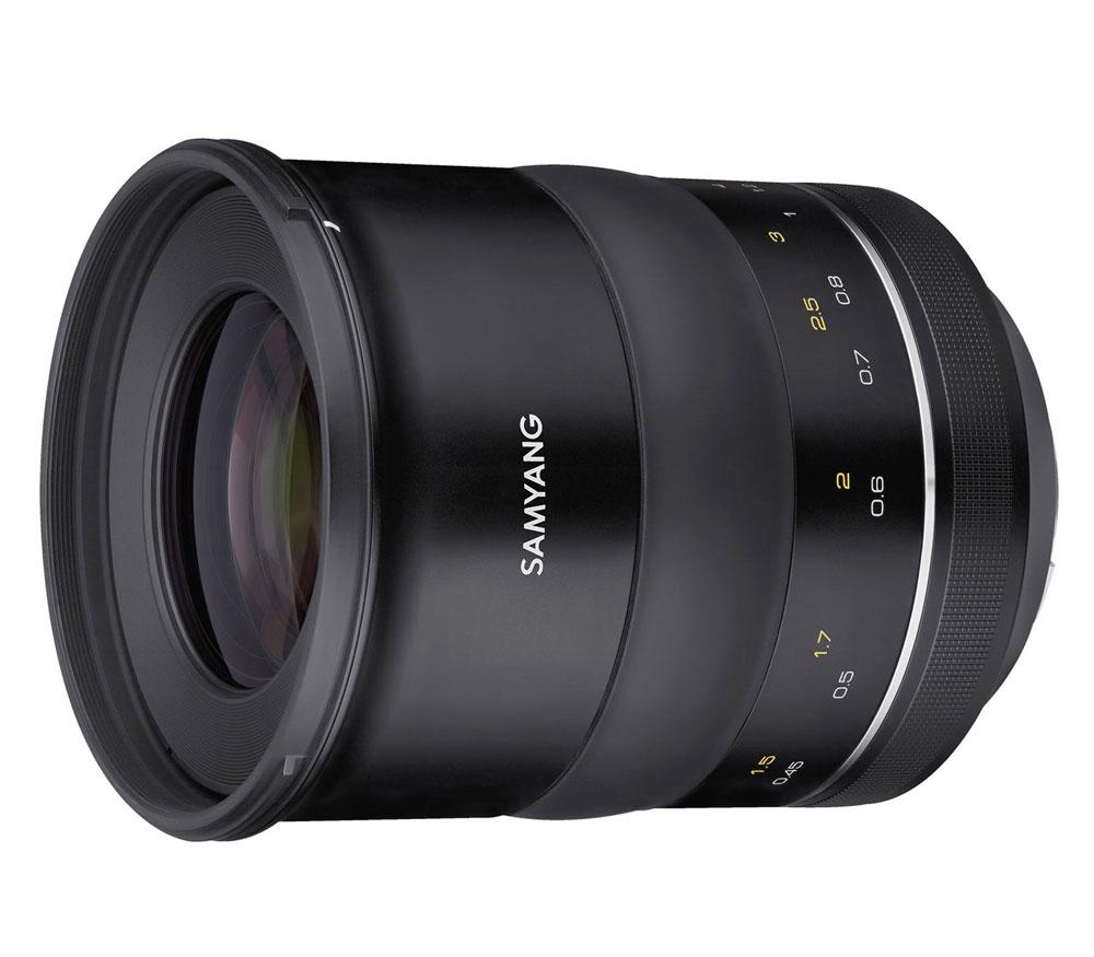 Объектив Samyang XP 50mm f/1.2 AE Canon фото