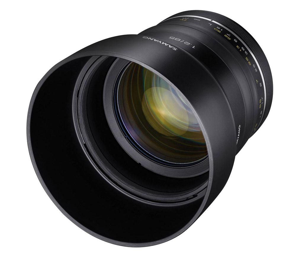 Объектив Samyang XP 85mm f/1.2 AE Canon фото