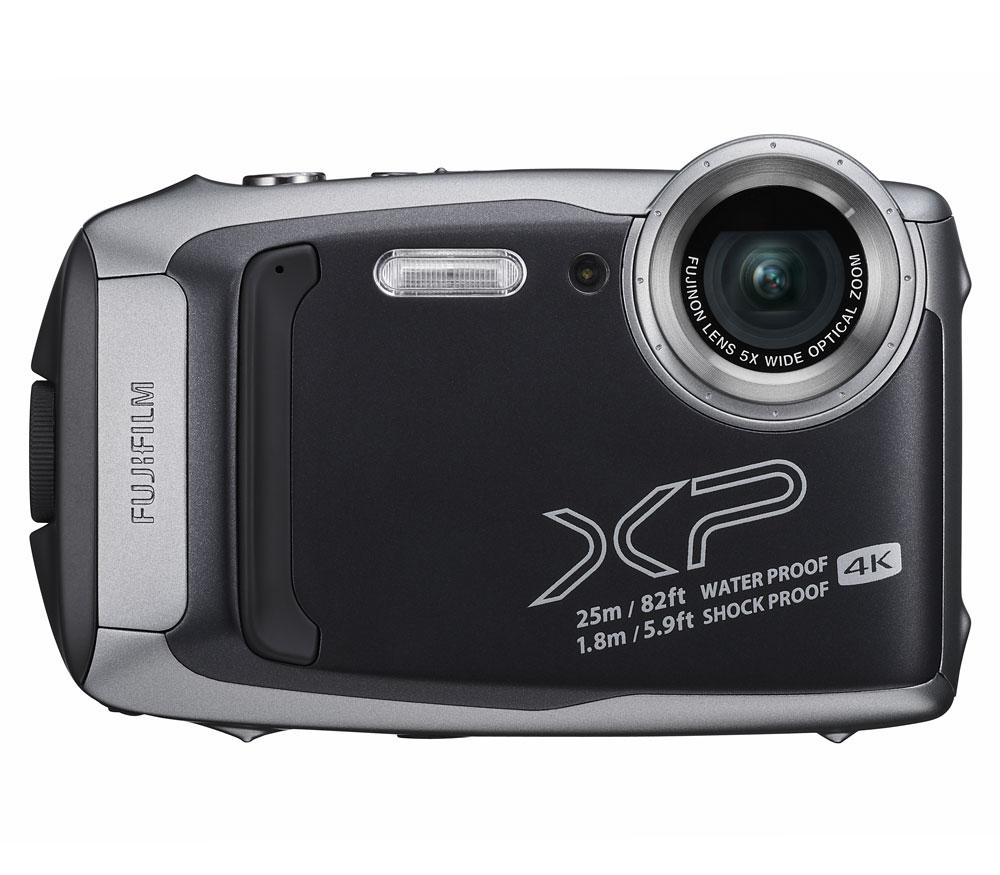 Компактный фотоаппарат Fujifilm FinePix XP140, серебристый фото