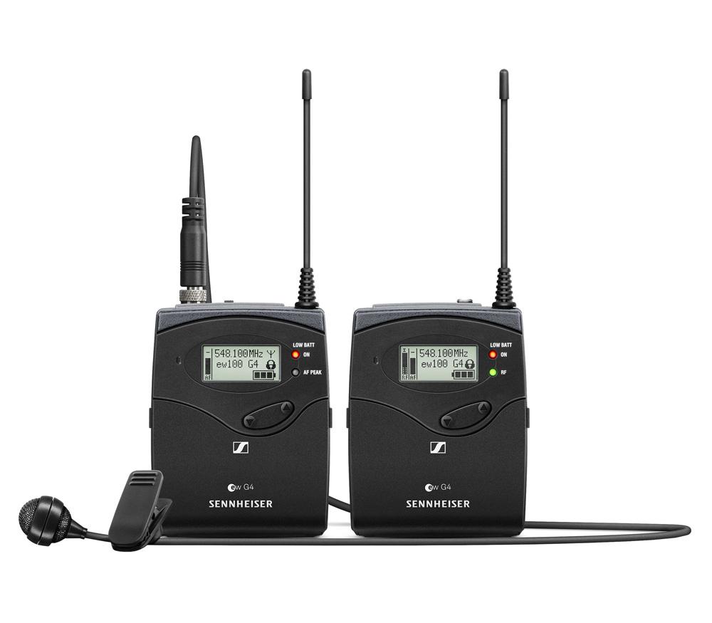 Беспроводная система Sennheiser EW 122P G4-A с петличным микрофоном ME4 (516-558 МГц)