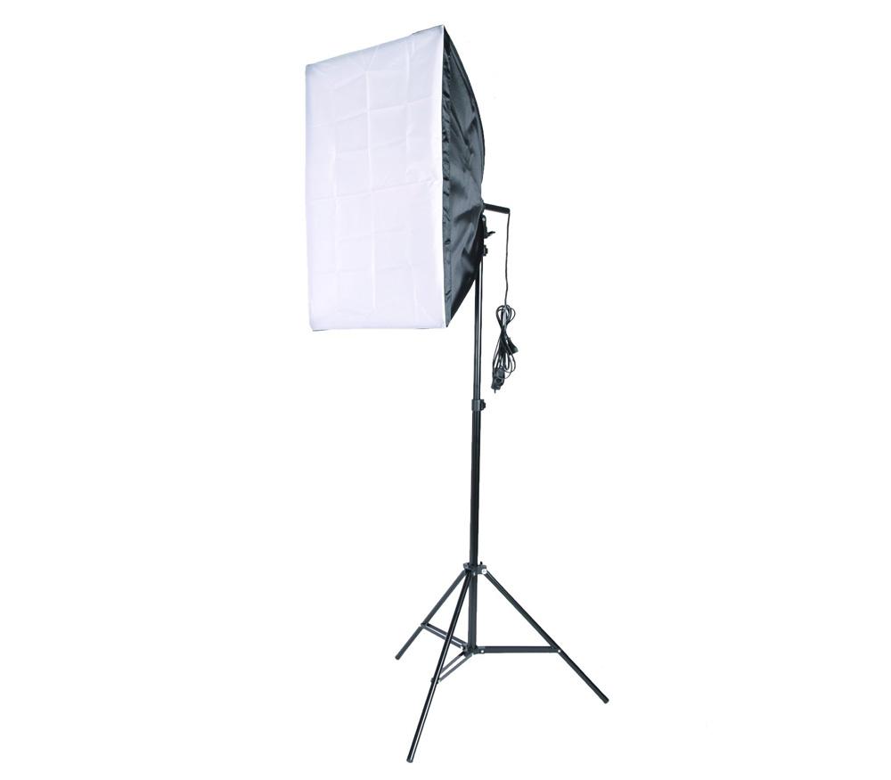 Комплект постоянного света FST FK-40, люминесцентный, 125 Вт, 40х40 см фото