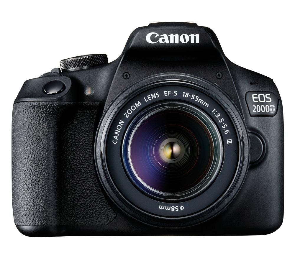 Зеркальный фотоаппарат Canon EOS 2000D Kit EF-S 18-55 III фото