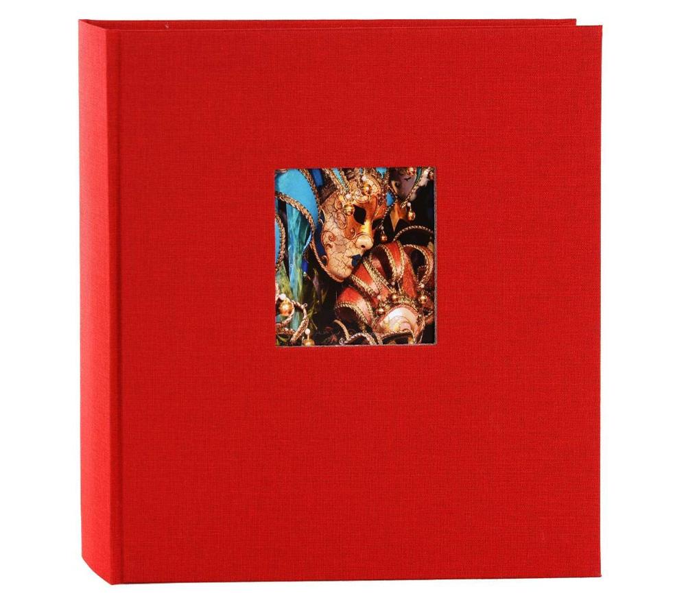 Фотоальбом Goldbuch 30х31 см, 60 страниц, Bella Vista, черные листы, красный фото