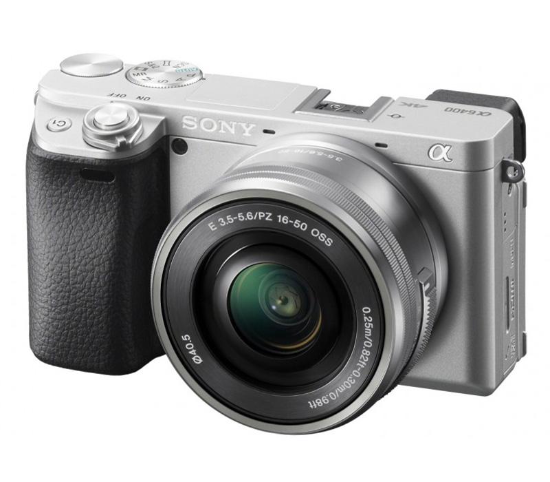 Фотоаппарат со сменной оптикой SONY Alpha a6400 Kit 16-50mm, серебристый фото