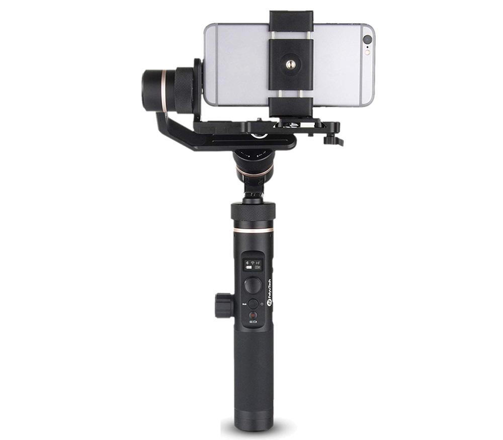 Стабилизатор Feiyu Tech G6 Plus, электронный, для телефона и камер до 800 г фото
