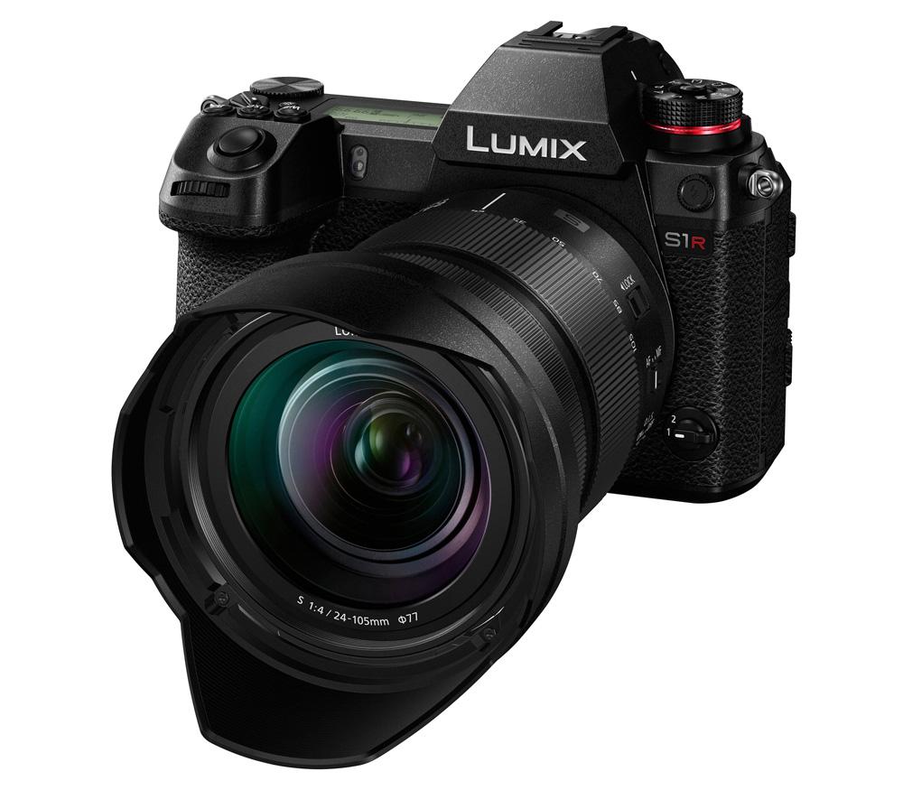 Фотоаппарат со сменной оптикой PANASONIC Lumix DC-S1R Kit 24-105mm фото