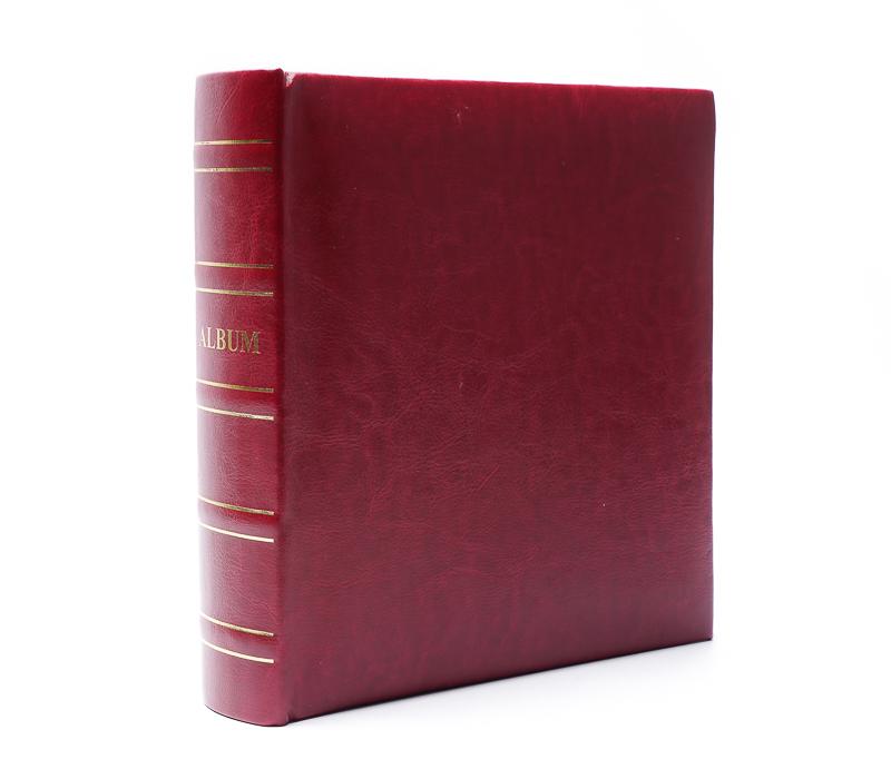 Фотоальбом Fotografia 10x15 см 200 фото, «Классика», красный фото
